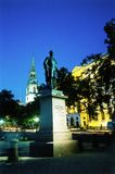 posąg trafalgar square london Obrazy Royalty Free