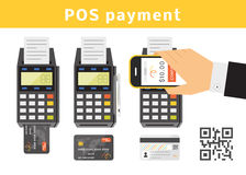 POS payment concept Royalty Free Stock Images