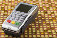 POS payment mobile gprs terminal Royalty Free Stock Photo