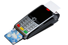 Point of sale terminal Royalty Free Stock Images
