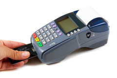 POS terminal Stock Photos