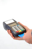 Pos terminal Stock Photography