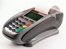 Pos terminal I Stock Photo