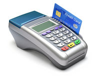 POS terminal Royalty Free Stock Photo