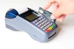 POS terminal Royalty Free Stock Photography