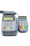 POS-terminal with PIN-pad Royalty Free Stock Photo