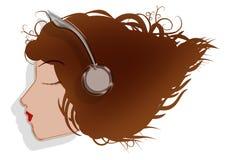 posłuchaj muzyki Fotografia Royalty Free