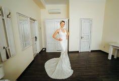 Posa della sposa Fotografie Stock