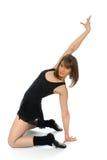Posa di balletto con incurvato indietro Fotografia Stock Libera da Diritti