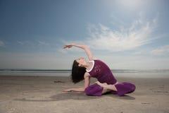 Posa di yoga Immagine Stock Libera da Diritti