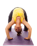 Posa di yoga Fotografia Stock Libera da Diritti