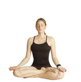 Posa di yoga Immagini Stock