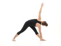 Posa difficile di yoga per i principianti Fotografia Stock