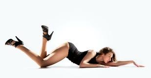 Posa moderna del ballerino di stile Immagine Stock Libera da Diritti