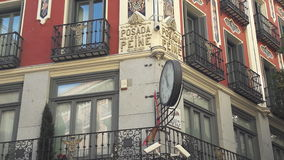 Posada del Peine, Madrid. Madrid City, Spain Royalty Free Stock Photography