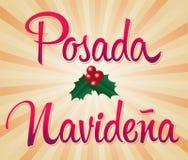 Posada Navidena - Mexicaanse traditionele Kerstmis Royalty-vrije Stock Afbeeldingen