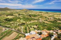 Posada, Sardinia Royalty Free Stock Images