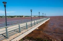 Posadas Boardwalk w Misiones, północ Argentyna Obrazy Stock