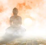 Posadzony Buddha Obrazy Stock