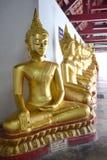Posadzony Buddha wizerunek Zdjęcie Stock