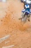 Posatoio di motocross Fotografie Stock Libere da Diritti