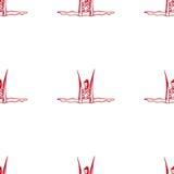 Pose antigravità di yoga Fotografia Stock