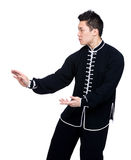 Pose of chinese martial art Stock Photo