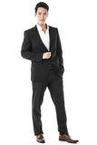 Pose of the confident businessman Royalty Free Stock Photo