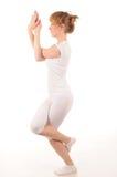 Pose da ioga Fotografia de Stock Royalty Free