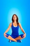 Pose da ioga Foto de Stock Royalty Free