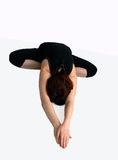 Pose dans le yoga Image stock