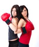Pose de boxeur Image libre de droits