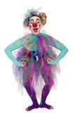 Pose de clown Photographie stock