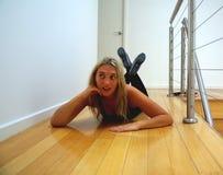 Pose de danseur Photos stock