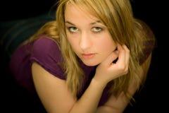 Pose de femmes Photo stock
