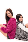 Pose de filles Photographie stock libre de droits