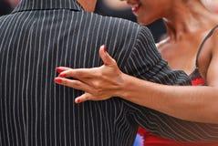 Pose de tango photographie stock libre de droits