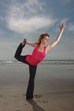 Pose de yoga images stock
