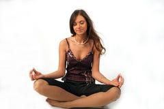 Pose de yoga Image libre de droits