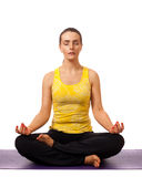 Pose de yoga Images stock