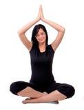 Pose de yoga Photographie stock