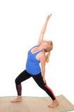 Pose di rappresentazione dell'istruttore di yoga Fotografie Stock