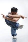 Pose du danseur photos libres de droits