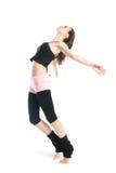 Pose du jeune danseur Photos libres de droits