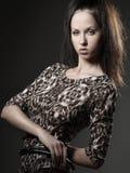 Pose of fashion Stock Photos