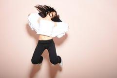 Pose moderne del danzatore Fotografie Stock