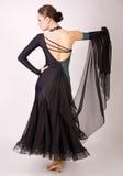 Pose professionnelle de danseur Images stock
