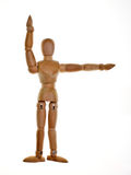 Posed Wooden Mannequin Royalty Free Stock Photo