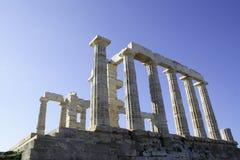 poseidon świątynia zdjęcia stock