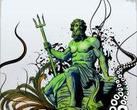 Poseidon Stock Afbeelding